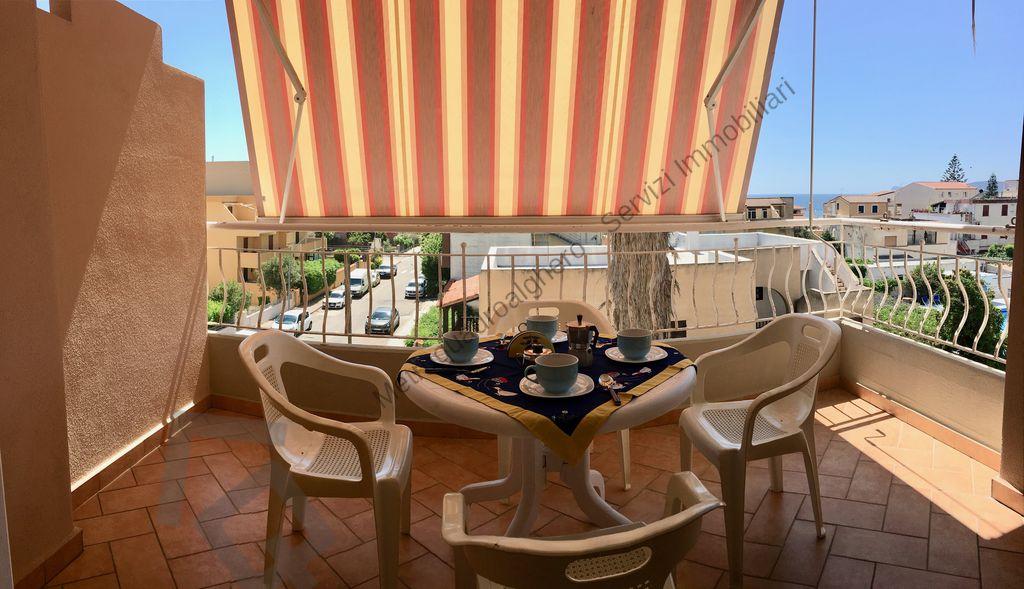Appartamento con terrazza abitabile vista mare Alghero