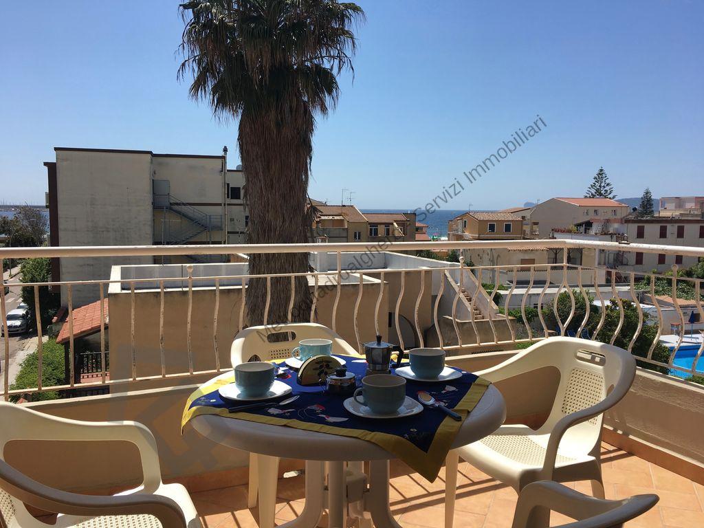 Casa vacanza vista mare con terrazza abitabile Alghero 04