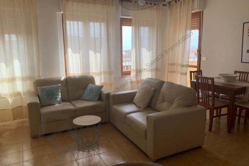 Affitto Trilocale 80mq. vista mare Alghero